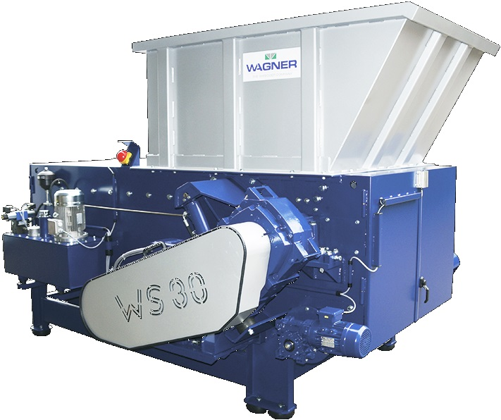 Wagner Shredder WS30 Single Shaft Shredder Phoenix XD Shredder Sold By Copper Recovery